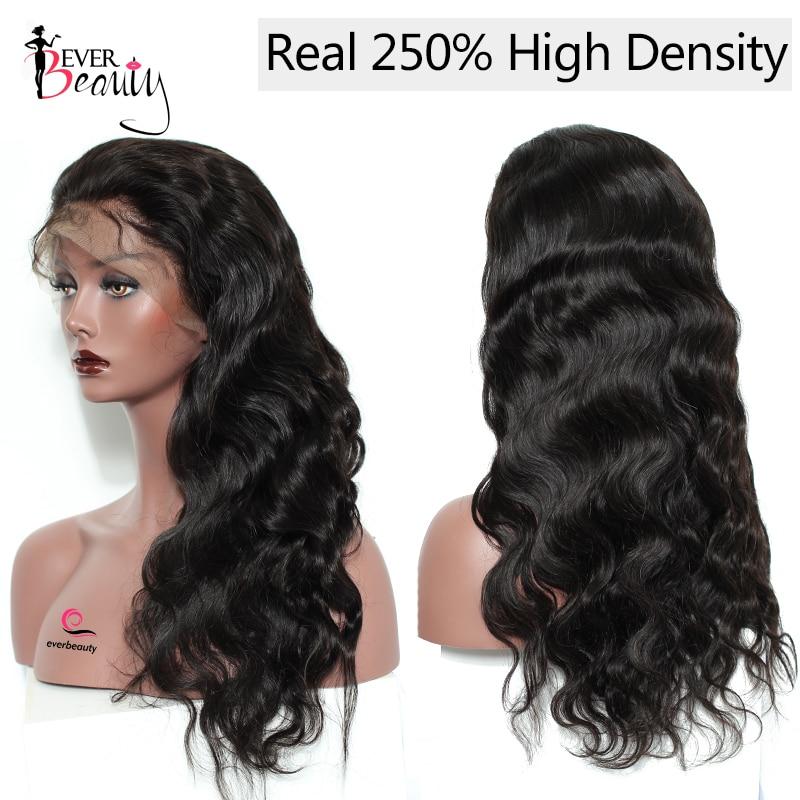Glueless Full End Lace Front Pelucas de cabello humano para mujeres - Cabello humano (negro) - foto 3
