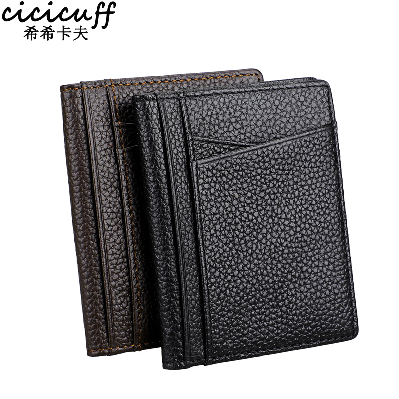 купить Driver License Cover Genuine Leather Business Card Holder Ultra-thin Cardholder for Auto Document Driver's License ID Card Case по цене 276.75 рублей