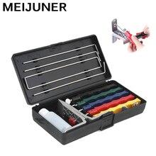 Meijuner точилка для ножей железная точилка для ножей угловой направляющий кухонный нож Lansky точилка комплект металлический кухонный инструмент MJ303