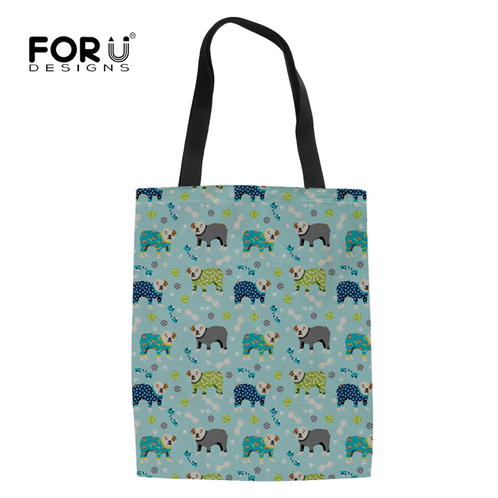 Tote Bag Just let me shop and no one gets Hurt Reusable Canvas Shopping Bag