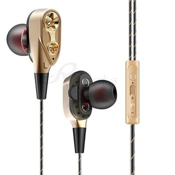 Dual Drive Στερεοφωνικά ενσύρματα ακουστικά In-Ear Bluetooth - Ακουστικά Gadgets MSOW