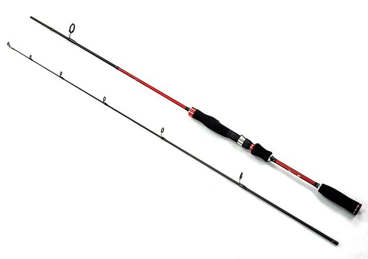 Fishing Rods 2 section 1.8m 2.1m Straight shank Fishing ...