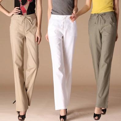 Popular Loose Linen Pants-Buy Cheap Loose Linen Pants lots from ...