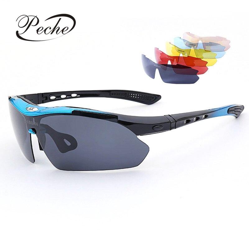 Peche Special-purpose Pesca Óculos de Condução de Bicicleta Óculos de Esportes Ao Ar Livre Anti UV Polarizada Óculos de Sol Óculos de Visão Noturna