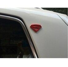 8X5.4cm auto styling grote metalen 3D 3M auto logo superman badge motorfiets auto stickers embleem auto accessoires gratis verzending vreugde
