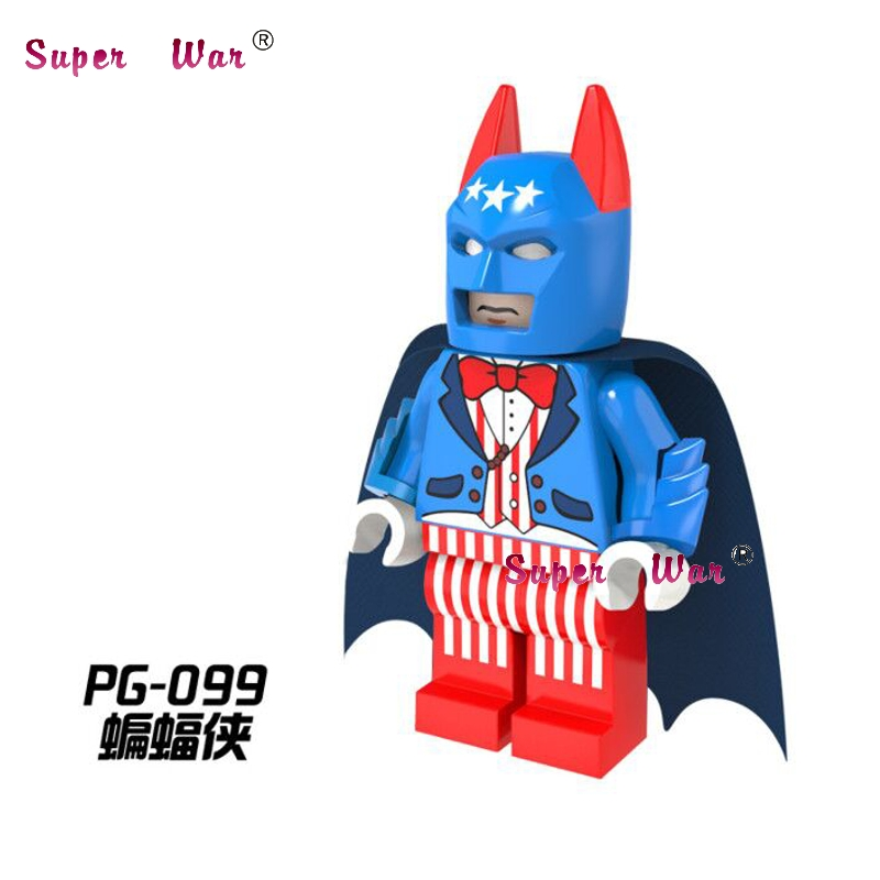 20pcs star wars superhero marvel The Batriot Batman building blocks action figure bricks model educational diy baby toys