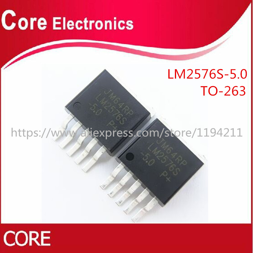 500pcs LM2576S 5 0 TO263 LM2576SX 5 0 TO 263 LM2576 5 0 5V new