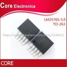 500 Chiếc LM2576S 5.0 TO263 LM2576SX 5.0 Đến 263 LM2576 5.0 5V Mới