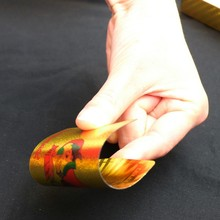 Водостойкие карты игры GYH палуба Золотая Фольга покер евро Стиль Пластик покерные игровые карты игровая доска imsb