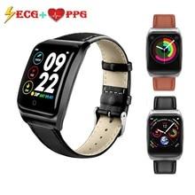 Onevan Ecg Ppg Smart Band Bloeddruk Hartslagmeter Waterdicht Vrouwen Fitness Armband Activiteit Tracker Mannen Sport Horloge