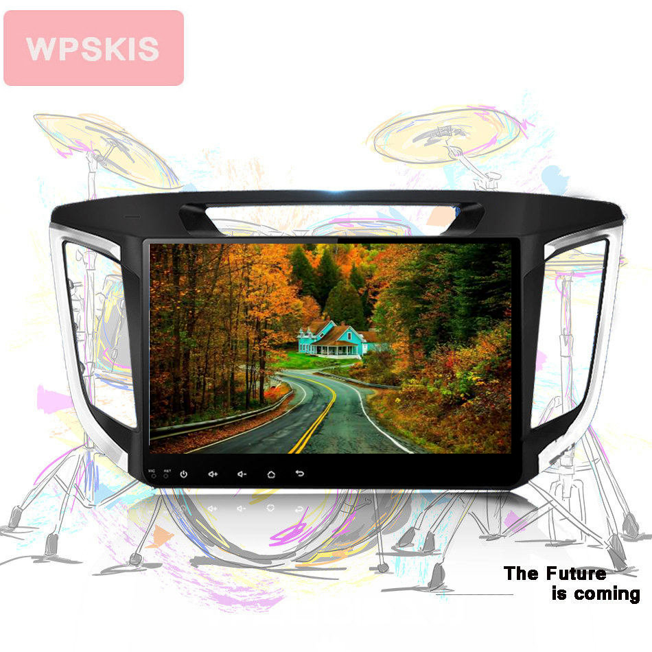 Octa Core android10.0 Autoradio gps navi audio video a/v music pc tablet media unit For HYUNDAI IX25 CRETA <font><b>dvr</b></font> <font><b>cam</b></font> <font><b>usb</b></font> CarPlay image