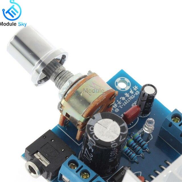 TDA7297 Version B Amplifier Board DC 9-15V 15W*2 Digital Audio Power Amplifier Module Stereo Dual Channel 15W + 15W Amplificador 4