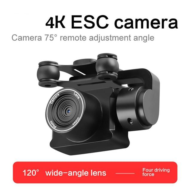 Upgraded S32T fpv Quadcopter With 4K Camera ESC HD 20mp adjustable Camera selfie Drone RC Helicopters 4-axis Aircraft flying toy 5
