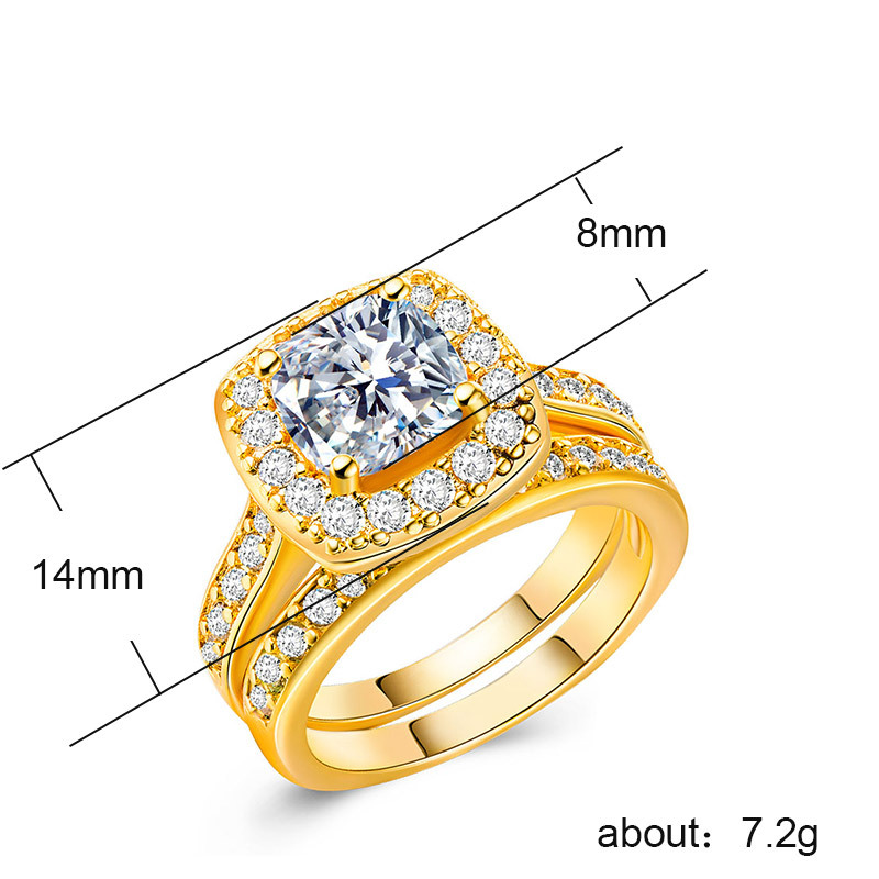 925 Silver Jewelry Diamond Ring Rose gold and silver topaz Malachite rings Detachable two pieces of men 39 s jewelry ringenB773 in Rings from Jewelry amp Accessories