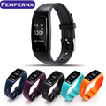 Femperna S1 Bluetooth Smart Band Wristband Heart Rate IP67 Waterproof Sport Smartband Bracelet For Android IOS Phone