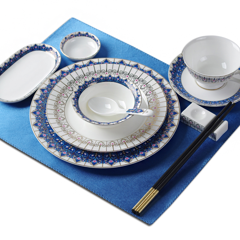 Ceramic Dinnerware Sets Best Dinner Plates Set Blue And White Dishes For Sale-in Dishes u0026 Plates from Home u0026 Garden on Aliexpress.com | Alibaba Group  sc 1 st  AliExpress.com & Ceramic Dinnerware Sets Best Dinner Plates Set Blue And White Dishes ...