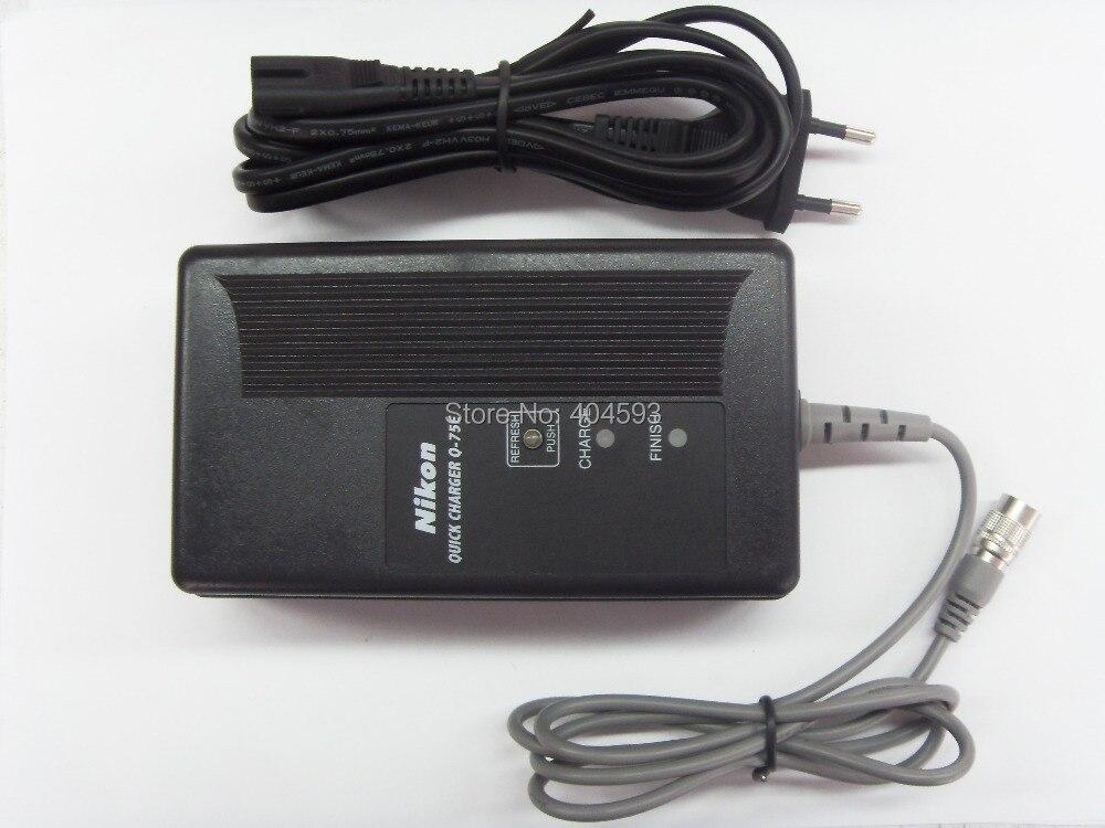 Новый q-75e Зарядное устройство, для Nikon ТАХЕОМЕТРЫ bc-65, bc-70, bc-80 Батарея