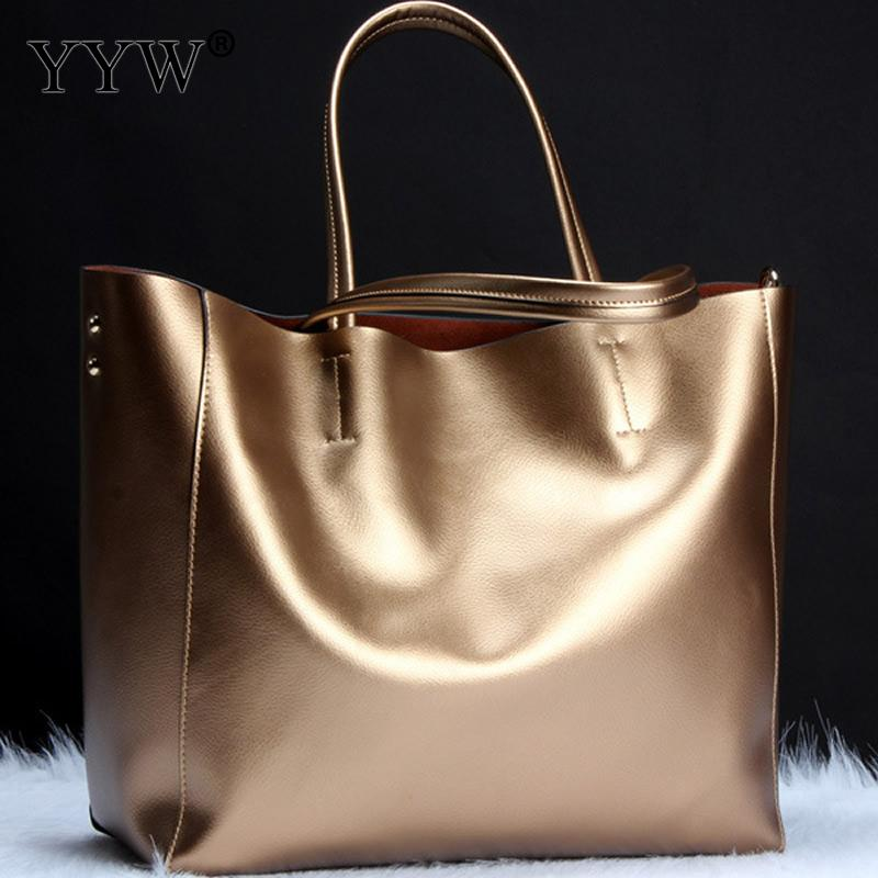 Luxury Women Bags Designer Gold Top Handle Bag for Female Casual Tote Bag Lady s Genuine