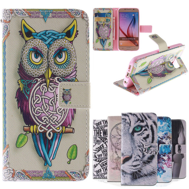 Leather Case For Samsung Galaxy S6 G920