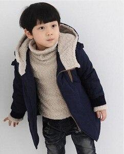 Image 2 - เด็กเสื้อแจ็คเก็ต2020ฤดูหนาวแจ็คเก็ตแจ็คเก็ตเด็กHooded Warm Fur Outerwearเสื้อสำหรับชายเสื้อผ้าวัยรุ่น8 10 11 12ปี