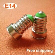 ФОТО 1piece, diy led parts e14 lamp base energy saving lamp accessories e14 lamp holder, free shipping