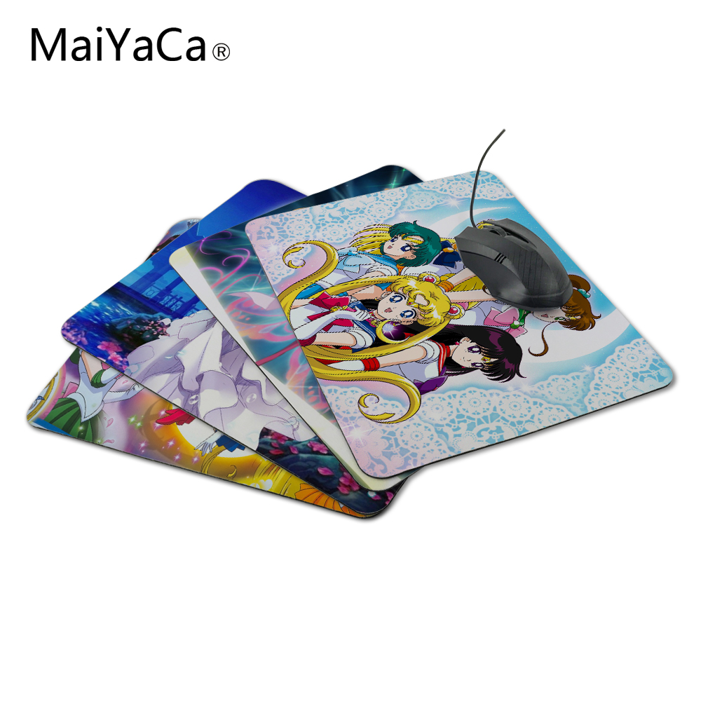 MaiYaCa Hot Selling Popular 1 PC Of Hot Sailor Moon Mouse Pad Mat For  Gaming PC Anti-slip Mouse Mat For Optical/Trackball Mouse