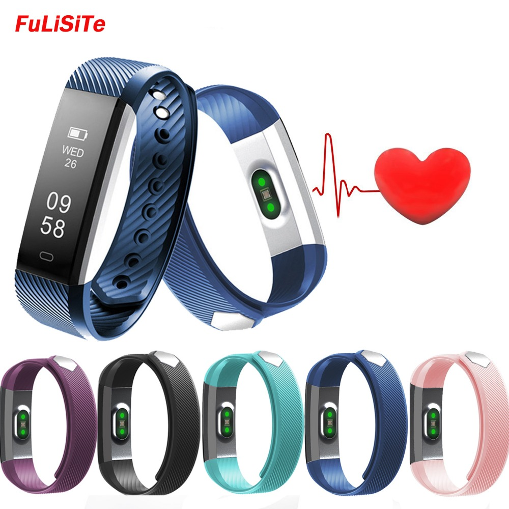 ID115 HR Plus Smart Sport Bracelet Fitness Watch Activity Heart Rate Monitor Music Control Waterproof Smartband