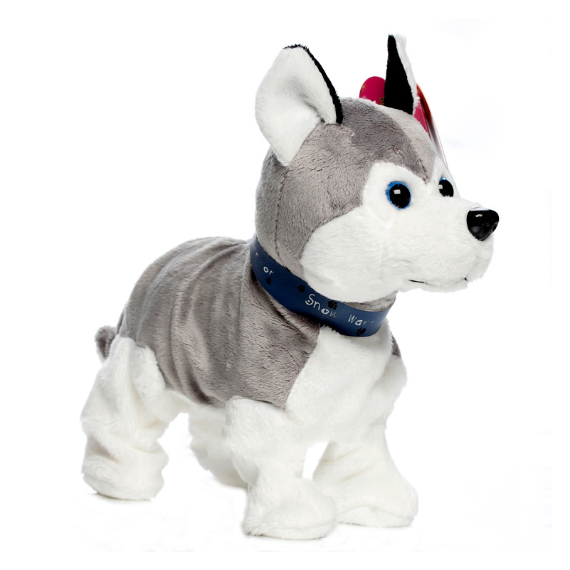 Electronic Pets Sound Control Robot Dogs Bark Stand Walk Cute Interactive Dog ElectronicToys For Kids