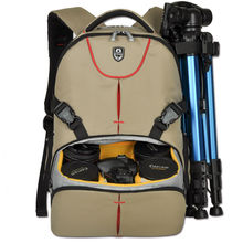 """Discount! SINPAID Digital Camera Backpack 15.6"""" Inches Laptop and DSLR Bag for Canon Rebel Nikon Sony Pentax Olympus"""