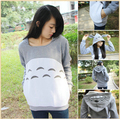 NEW! Animation Totoro Cosplay Costume Hoodie Coat My Neighbor Totoro Autumn Hoodie Unisex Jacket Hallowmas Christmas clothing