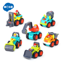 Bulldozer, Cars- Forklift, Boy