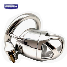 FRRK male chastity cage 304 Stainless steel penis Ring Chaste Bird Chastity Device Belt Cock Cage Penis sex shop