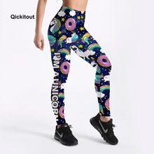 cfef11c005b8d 2018 Hot Sale Leggings Women Summer Pants Cute Donuts Unicorns Printed Girl  Leggings Plus Size S-XXXXL