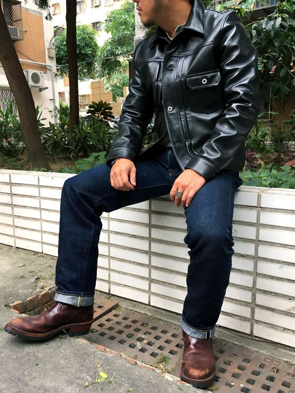 b8e97186b49 S to 4XL black Genuine Leather Jacket Men Fashion Natural Horsehide Leather  Coat Motor real Leather Jacket 2017 free shipping-in Genuine Leather Coats  from ...