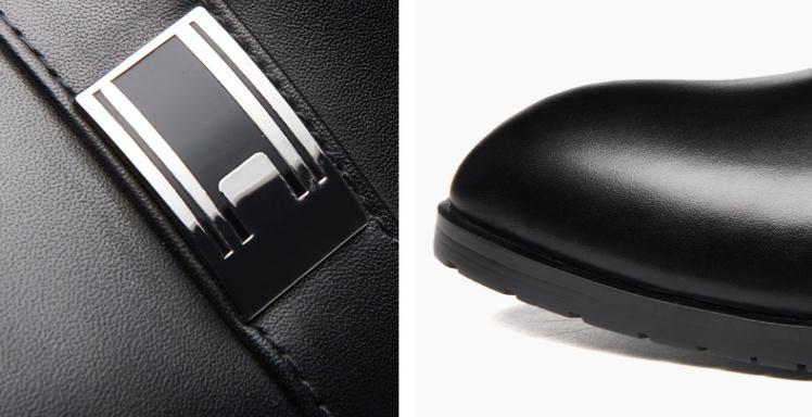 Des Carrière Occasionnels Mode Chaussures D'affaires De Cuir Robe Black Mocassins Véritable Hommes Bout Sur Glissement Loisirs Nouveaux Pointu qwIxIf5a