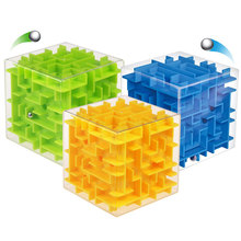 New 3D Stereo Toy Labyrinth Cube Children Adult Puzzle Intelligence Educational Toys  Good Gift For Your Child  88 88  S