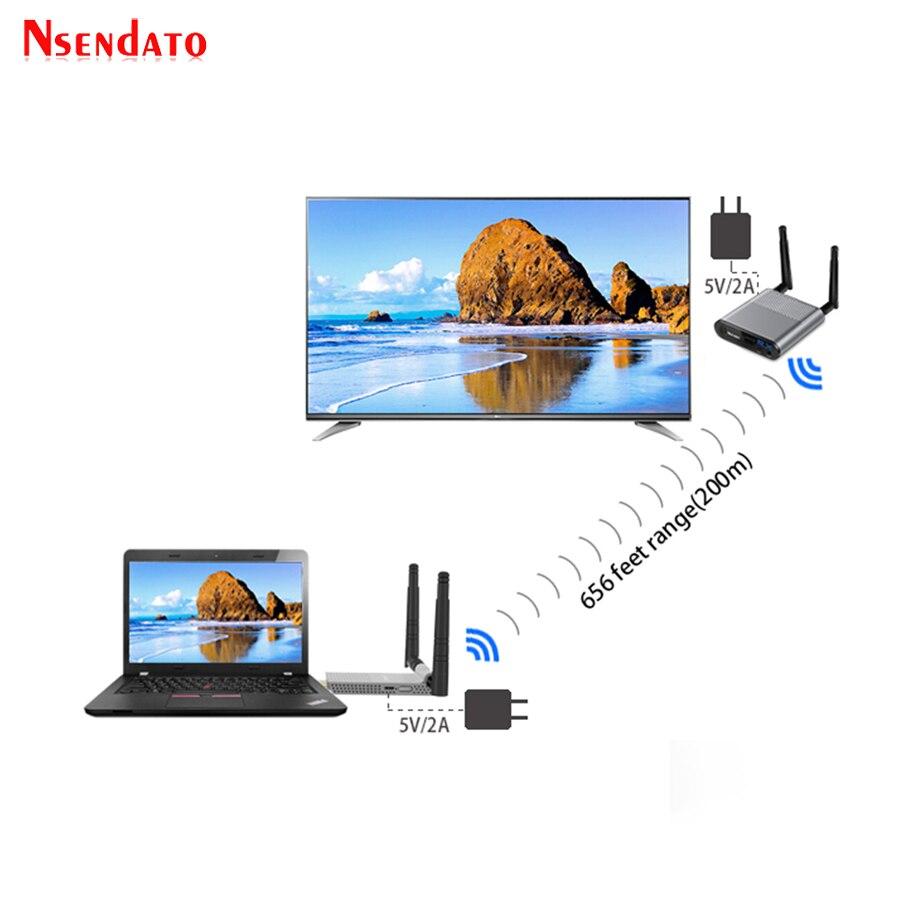 200M Wireless Wifi HDMI Extender (10)