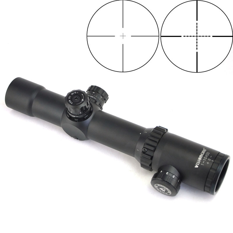 Visionking Riflescope 1 10x30 Compact FFP Optics Scopes 35mm Tube Hunting Sniper Sight Carbine Gun Shooting