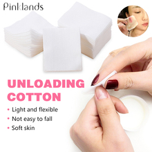 цены 900Pcs Nail Polish Remover Nail Wipes Cotton Napkins For Nails UV Gel Polish Clean For Facial Clean Cotton Pads Manicure Tool