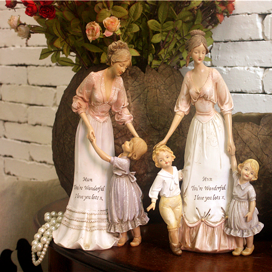 New American Country And European Lady Home Furnishing Ornaments