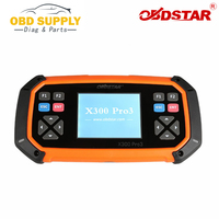 OBD2 Diagnostic Tool OBDSTAR X300 PRO3 Key Master Standard Configuration With Immobiliser Odometer EEPROM Auto Key Programmer