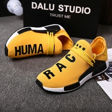 2017 Hot Sales Fashion Breathable Men Shoes Zapatilla Deportivas Mujer Human Race Casual Shoes Mens Four colors are available