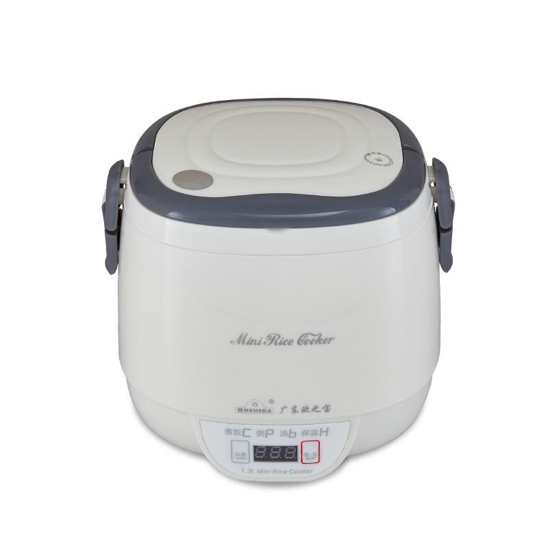 3 Cups Microcomputer Digital Electric Mini Rice Cooker Student Dormitory Soup Porridge Boiler Noddles Lunch Cooking Pot 1L