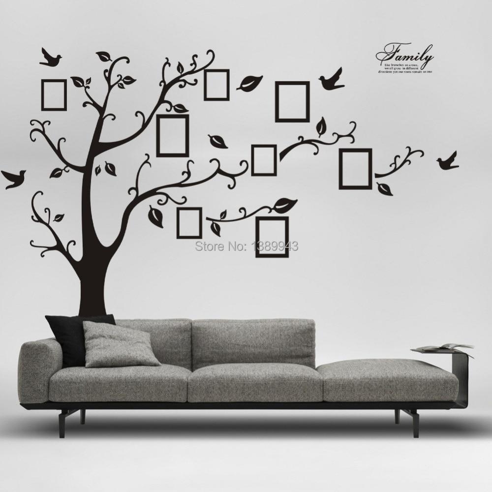 Tree Wall Decor popular family tree sticker-buy cheap family tree sticker lots