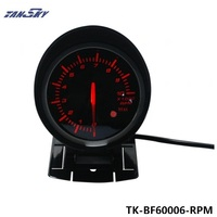 TANSKY-60mm DF BF Araç Tacho Metre Oto Takometre RPM Ölçer Kırmızı ve Beyaz Işık FORD Mustang Için 4.6L TK-BF60006-RPM