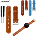 Replacement Leather Wrist Strap Watchband for Garmin Forerunner 220 230 235 630 620 735 GPS Running Watch