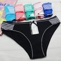 Free shipping 5pcs/lot  Spot cotton ladies underwear sexy women briefs wholesale New Women's  cotton panties Girl Briefs 89049
