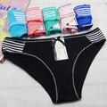 O envio gratuito de 5 pçs/lote Local de algodão das senhoras roupa interior sexy das mulheres calcinhas de algodão Menina Cuecas cuecas por atacado das Mulheres Novas 89049