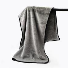 100X40CM Super Absorbent Car Wash Cloth Premium Microfiber Towel Cleaning Drying Cloths Rag Detailing Ultra Size Car Towel Care
