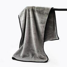 100X40CM سوبر سيارة ماصة غسل القماش قسط منشفة من الألياف الدقيقة تنظيف تجفيف الملابس خرقة بالتفصيل فائقة الحجم منشفة سيارة الرعاية